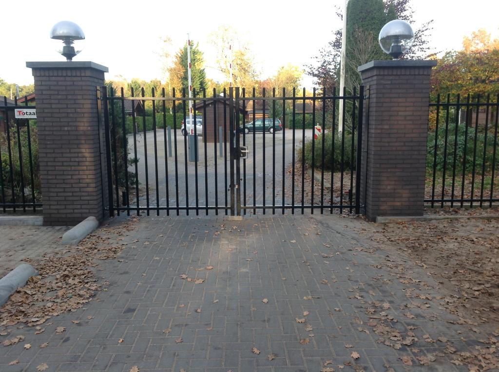 Dubbele poort in Ermelo