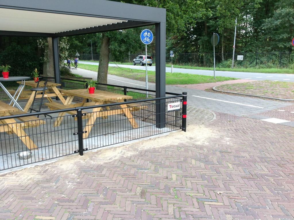 Dubbelstaafmathekwerk in Hilversum