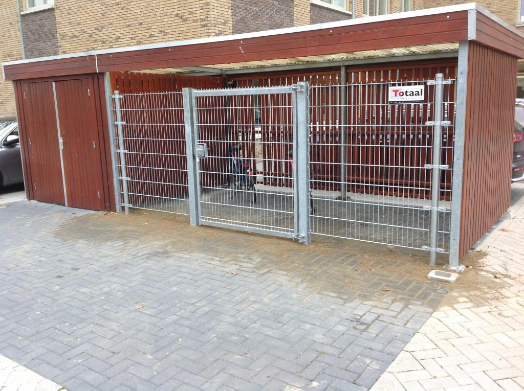 Enkele poort in Geldermalsen